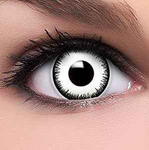 farbige wei e kontaktlinsen vampir mit st rke. Black Bedroom Furniture Sets. Home Design Ideas