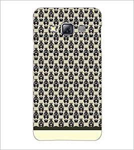 PrintDhaba Pattern D-1922 Back Case Cover for SAMSUNG GALAXY A3 (Multi-Coloured)