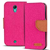 Wiko Tommy Hülle, Conie Mobile Textil Booksytle