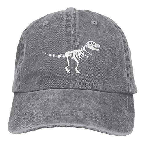 Jxrodekz MEILOP T Rex Skeleton Dinosaur Adult Cowboy HAT EE826 - Cowboys Holzkohle