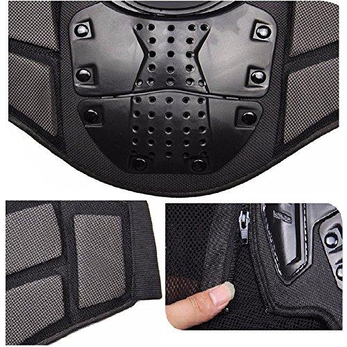 Motorrad Schutz Protektoren Motorradjacke Hemd Brustschutz Fallschutz Schutzjacke M-XXXL - 5