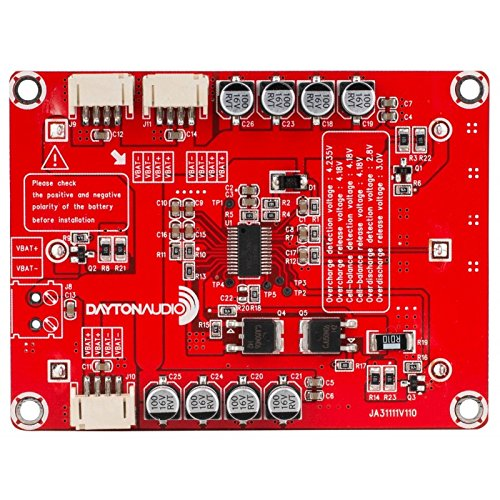 Dayton Audio KAB-BE 18650 Battery Extension Board for Bluetooth Amplifier Boards - 4