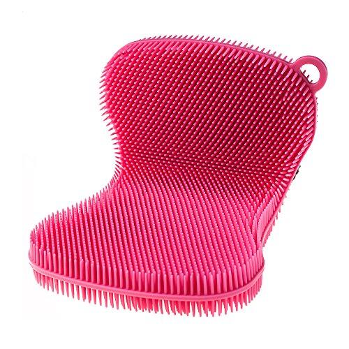 Bunte Kochblume Swisch Silikonschwamm pink Lappen aus Silikon