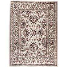 Alfombra 250 x 350 cm XL Grandes Nácar Oriental Decoración Ornamental Diseño/Carpeto Colección Ayla