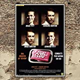 GoPoster Poster Cinema Fight Club - Brad Pitt - Formato: 70x100 CM