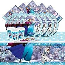 Kit de fête complet La Reine des neiges pour 16 personnes