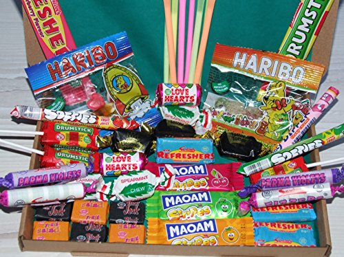 A Letterbox Buster of a Sweet Box Filled With 42 Classic Children's Sweets