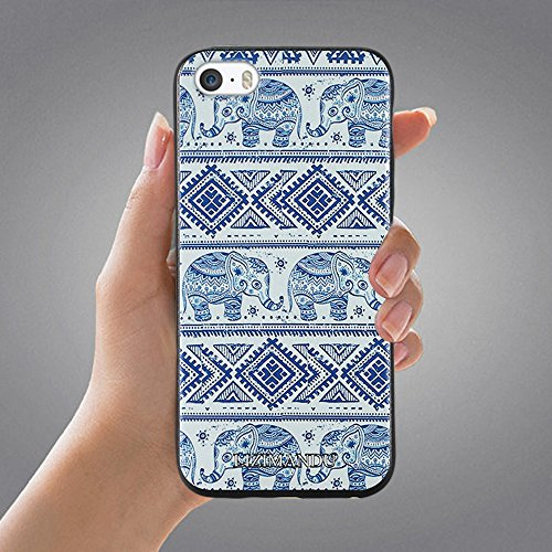 iPhone 5 hülle,iPhone 5s hülle,iPhone se hülle,Lizimandu TPU 3D Handyhülle Muster Case Cover Für iphone5/5s/5se(Elefant/Elephant) Elefant/Elephant