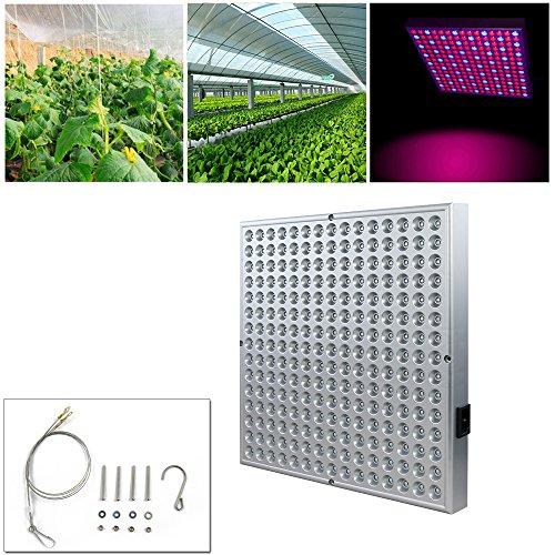 BH 15W LED Grow Lampe Pflanzenlampe Pflanzenleuchte Pflanzenlicht Wachstumslampe 225 LEDs Rot&Blau für Hydroponik Innengarten Gewächshaus Obst Blumen Gemüse tageslicht Zimmerpflanzen