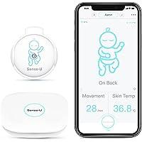 Sense-U Babyphone 2: Bewegung, Hauttemperatur, Schlafposition, von jedem Ort aus