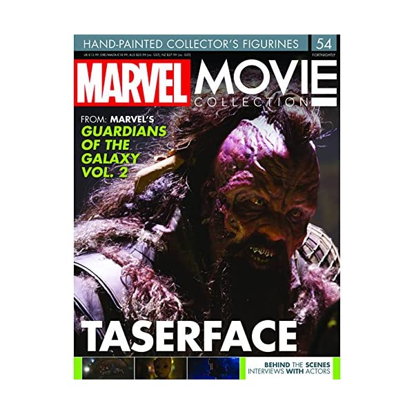 Eaglemoss Marvel Movie Collection Nº 54 TASERFACE (Guardians of The Galaxy) 4