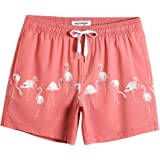 MaaMgic Men's Swimming Trunks Quick Dry Fit Performance Surfing Short Pockets