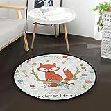 Tapis antid/érapant de yoga pour chambre /à coucher Grande surface en mousse l/ég/ère Tapis de jeu pour enfants Tapis doux pour lapins Orediy