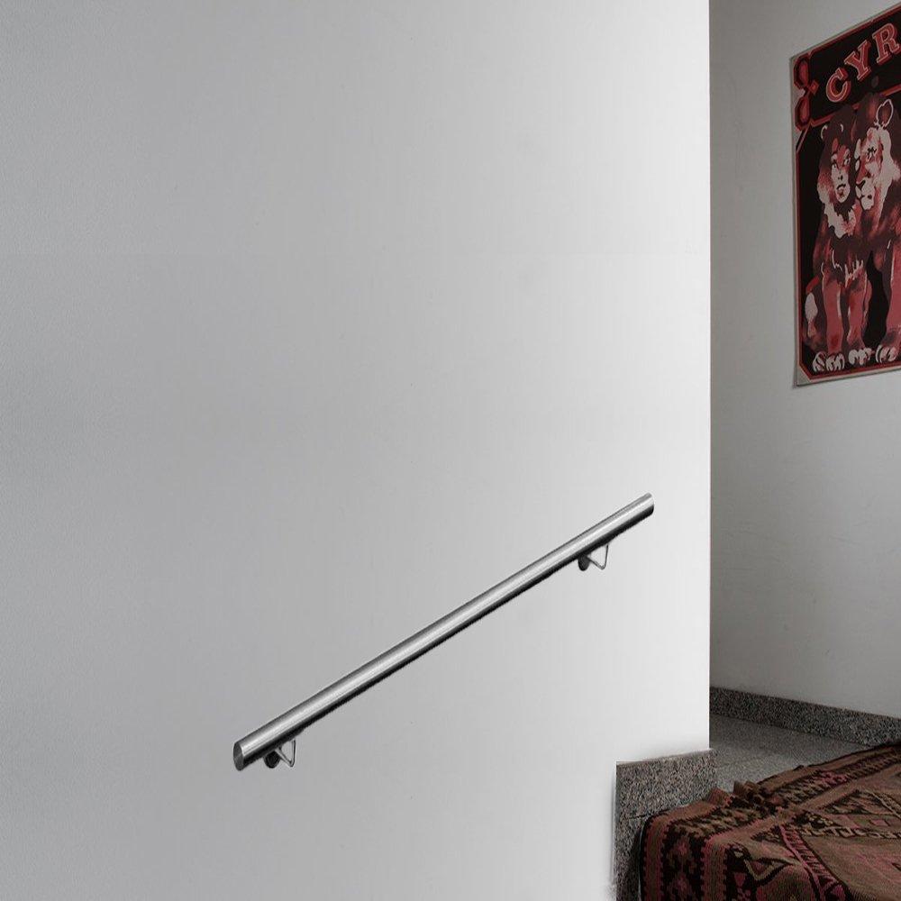 Supporto Da Parete 100cm Colore Scuro Balconi Parapetti Per
