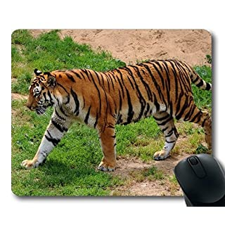 animal mouse pads,Amur tiger angry animal,flying tiger mouse pad