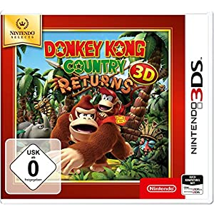 Donkey Kong Country Returns 3D – Nintendo Selects – [3DS]