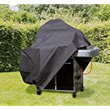 Wehncke 15596 Deluxe - Funda de protección, cubierta para barbacoa grill BBQ 143,5 x 60 x 117.9 (H) cm