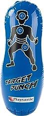 Playtastic Punchingball: Aufblasbarer Anti-Frust-Punching-Ball 100cm mit Soundeffekt (Boxsack aufblasbar)