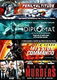 Coffret Action : Péril en attitude + The Diplomat + Mission Commando + River Murders