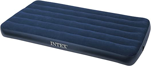 Happy GiftMart Premium Intex Single Inflatable Air Bed 68950,Royal Blue