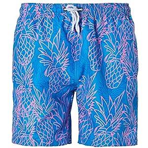 Goodstoworld Hombre Bañador Shorts Playa