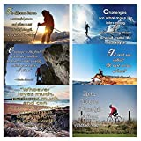 neweights Adventure Inspirierende Zitate Poster 12-Pack