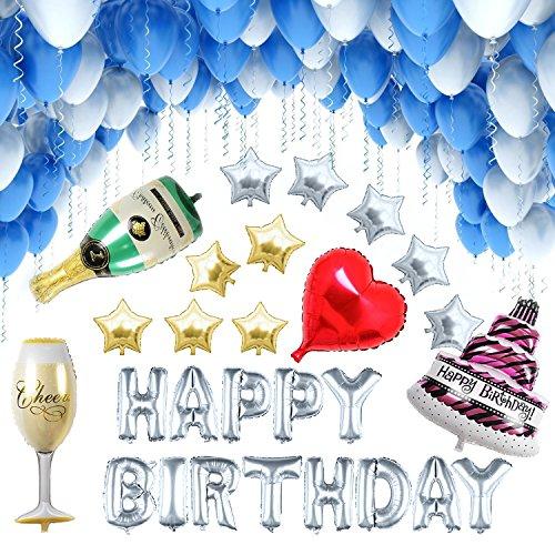 [127 Piezas] Globos Cumpleaño