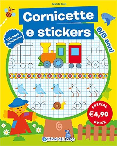 CORNICETTE STICKERS 6-8 - CORN