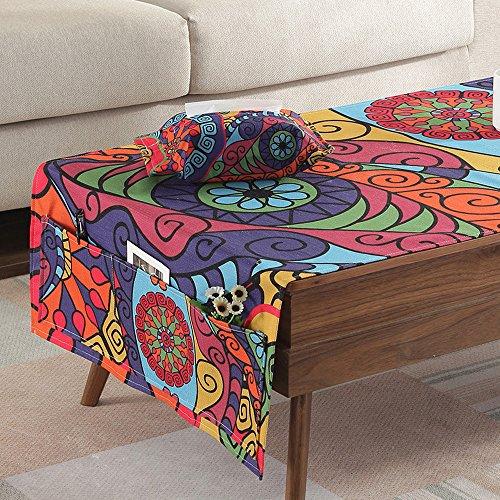 Nordique Salon Table Basse Table D'Appoint Nappe Tv Armoire Nappe Tissu Imperméable À L'Eau Couverture Tissu Art Table Table Tapis Nattes Maison (Taille: 60X150cm) XXPP