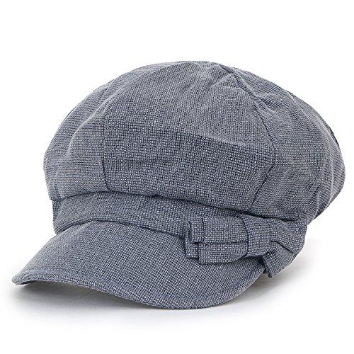 d Farbe Schieber Cabbie (Chauffeurhut) Cap Baumwolle Ivy flach Golfermütze Hut, Navy Blue (Paperboy Kostüm)