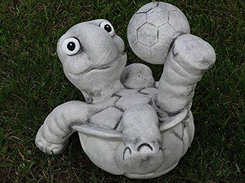 Steinfigur Nr.556 Fußball Schildkröte 11 Fussballspieler ca. 8 kg - 8
