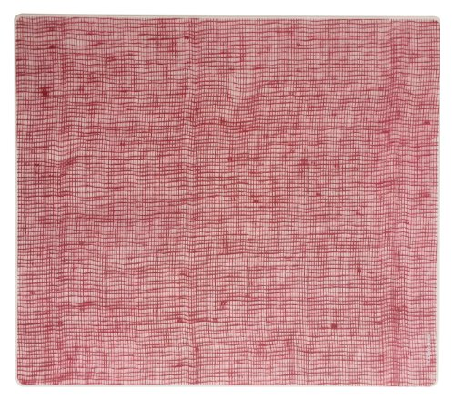 modern-twist Tischset Leinen Cranberry, Silikon, 40 x 32 x 1.12 cm -