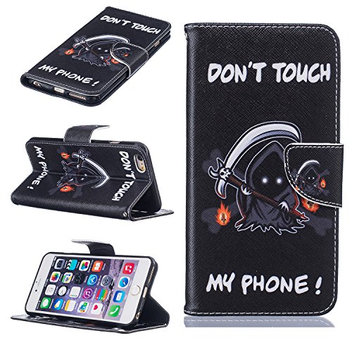 Coque-pour-Apple-iPhone-6s-Plus55-Zoll-Housse-en-cuir-pour-Apple-iPhone-6s-Plus55-Zoll-Ecoway-Rtro-motif-color-tui-en-cuir-PU-Cuir-Flip-Magntique-Portefeuille-Etui-Housse-de-Protection-Coque-tui-Case-
