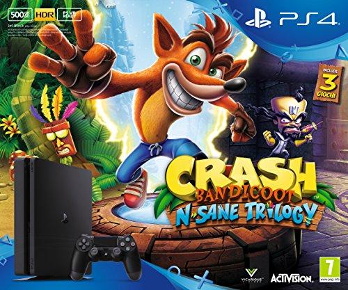 Playstation 4 500GbD, Nero+CrashBandicoot:N'SaneTrilogy [Bundle]
