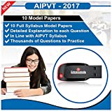 AIPVT 2017 Model Papers Pen Drive (10 Se...