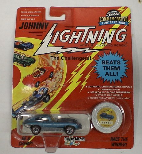 Johnny Lightning the Challengers DIE Cast CAR Custom XKE by Johnny Lightning (Lightning Diecast Johnny Cars)