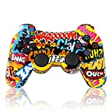 Manette Sans Fil Double Vibration Sixaxis Gamepad Pour PS3 Playstation 3