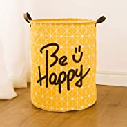 GUQIONG Storage Big Size Laundry Basket Washing Dirty Clothes Sundries Box Folding Waterproof Bathroom
