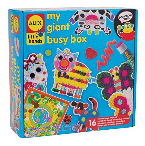 Alex Toys Early Learning My Giant Busy Box Little Hands by Alex