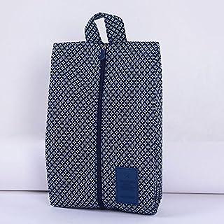 Addfun reg;tragbar Wasserdicht Nylon Reise Schuhbeutel mit Reißverschluss, Packung mit 2 Stück