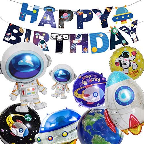 Galaxy Party Supplies - Baipin Weltraum Geburtstag Party Dekoration, Galaxy
