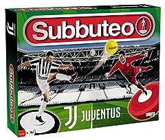 Idea Regalo - Giochi Preziosi Subbuteo Playset Juventus con 2 Squadre Tappeto Gioco, 2 Porte, Pallone