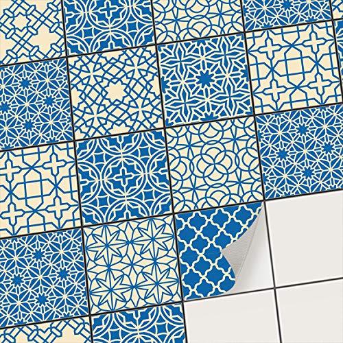 creatisto Mosaik-Fliesen Fliesensticker Fliesenfolie - Selbstklebende Fliesen Folie | Stickerfliesen - Mosaikfliesen für Küche, Bad, WC...