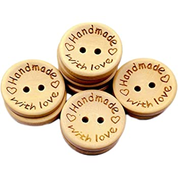 FLOWERS..........JJ30 PACK OF 10 PRETTY WOODEN BUTTONS 30mm PRINTED DESIGN