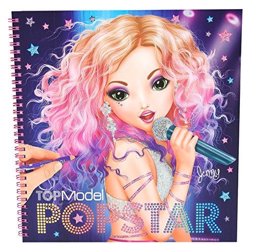 8493_A – Topmodel Agenda Popstar para colorear