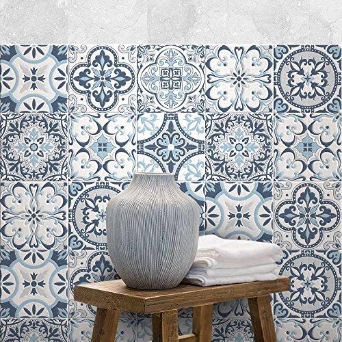 72 Piezas Adhesivo para Azulejos 10x10 cm - PS00138 - Corfù - Adhesivo...