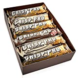 ALL STARS Crisp-Pro High Protein Bar Mix Box, 12 x 50g, bis zu 32% Eiweiß, idealer Protein-Snack für unterwegs