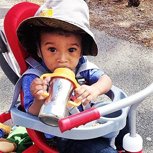 Thinkbaby Trinklernflasche, Schnabeltasse, Trinklerntasse, Trinkbecher aus Edelstahl – Schnabelbecher aus rostfreien Edelstahl für Kleinkinder – Kein BPA – 290ml (9oz) - 3