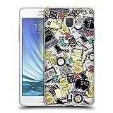 Head Case Designs Buchhalter Gekritzelte Berufe Soft Gel Hülle für Samsung Galaxy A5 (2015)