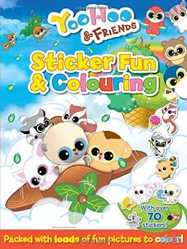 YooHoo & Friends Sticker Fun & Coloring (Yoohoo and Friends) by Anna Award (2015-08-15)